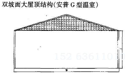 双坡面大屋顶结构